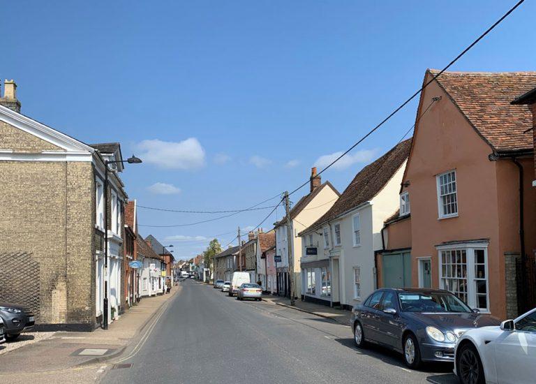 High Street Hadleigh