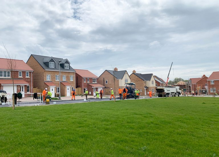 New Houses in Hadleigh