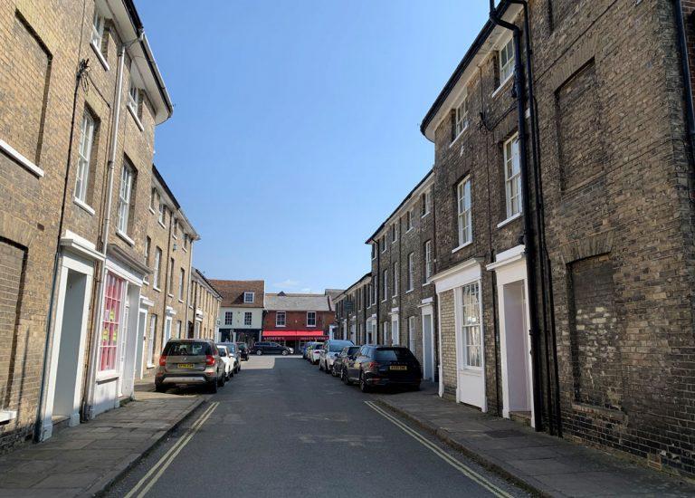 Queen Street Hadleigh